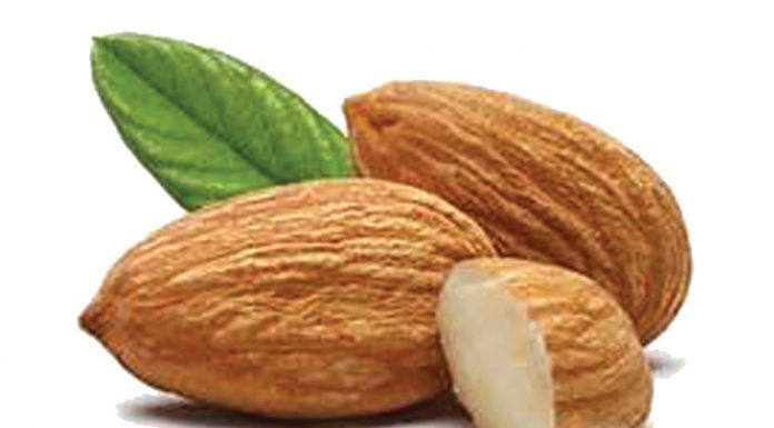Almonds photo Shutterstock