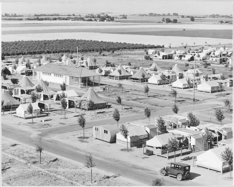 Farm Labor Camps:  A Look Back at How  America Solved the Crisis During the Great Depression
