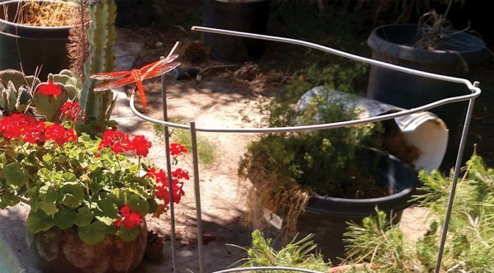 Tomato Cage with Flame Skimmer