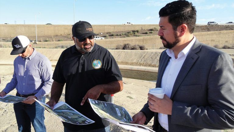 New Chair of the State Water Board,  Joaquin Esquivel, Visits Local Water Sites
