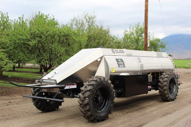 Artificial Intelligence in Ag: The GUSS Makes Its Debut in Kern County Fields and Orchards