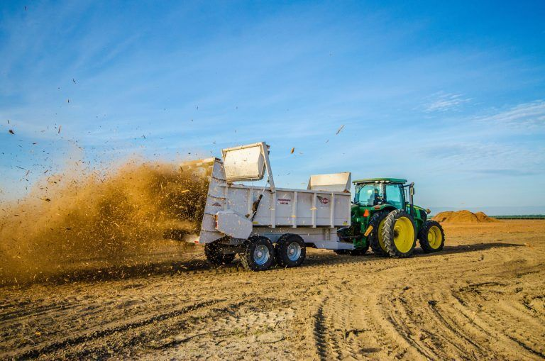 Almond Orchard Recycling a Climate-Smart Strategy