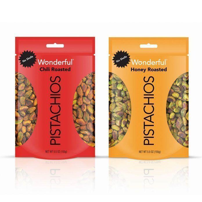 bags of pistachios
