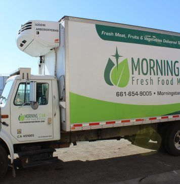 Morning Star fresh food truck
