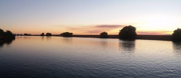 Walnut grove Sacramento delta waterway