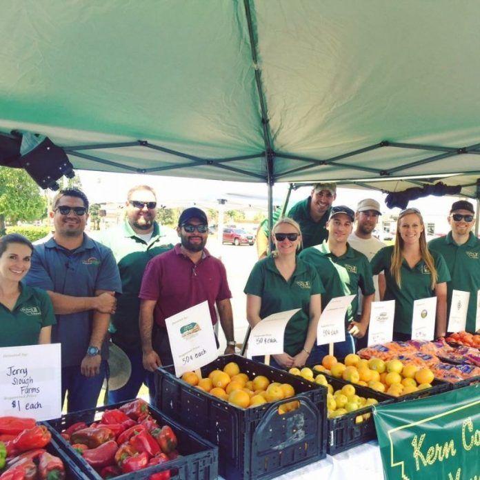 Charity farmers market