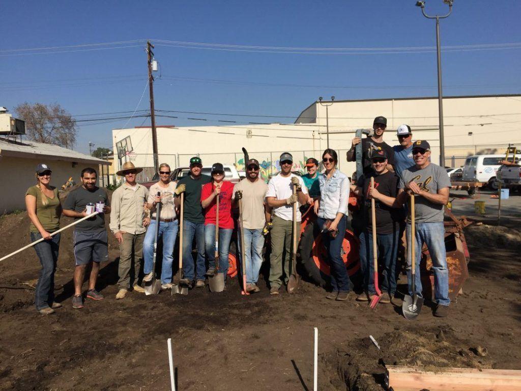 Boys and Girls Club Kern County workday
