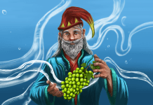 Magician with Grapes