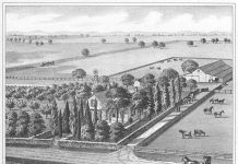 A farm in the San Joaquin Township in the 1850s