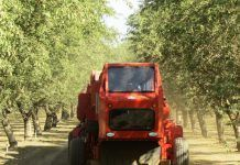 Low-dust nut harvester (San Joaquin Valley Air Pollution Control District)