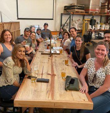 social at Crusader Brewing, Bakersfield, California