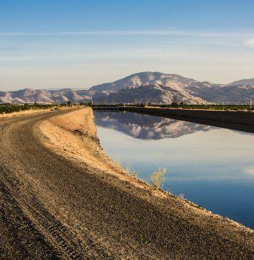 Friant-Kern Canal in California