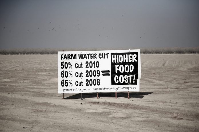 drought sign