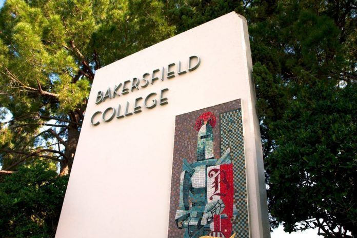 Bakersfield College monument sign